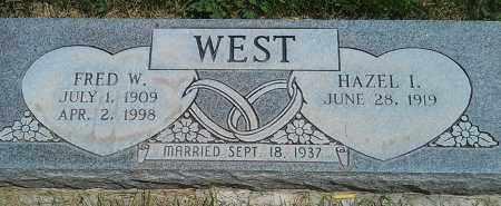 WEST, FRED W. - Navajo County, Arizona | FRED W. WEST - Arizona Gravestone Photos