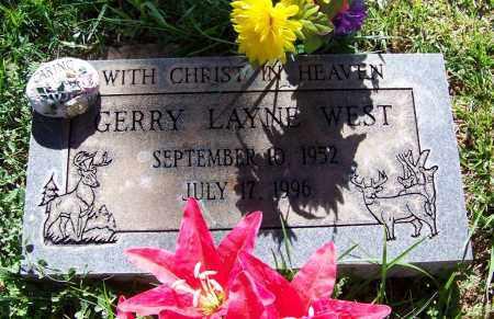 LAYNE WEST, GERRY - Navajo County, Arizona | GERRY LAYNE WEST - Arizona Gravestone Photos