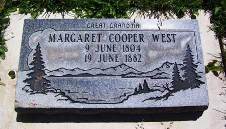 WEST, MARGARET - Navajo County, Arizona   MARGARET WEST - Arizona Gravestone Photos