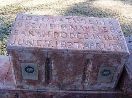 DODGE WILLIS, SARAH - Navajo County, Arizona | SARAH DODGE WILLIS - Arizona Gravestone Photos