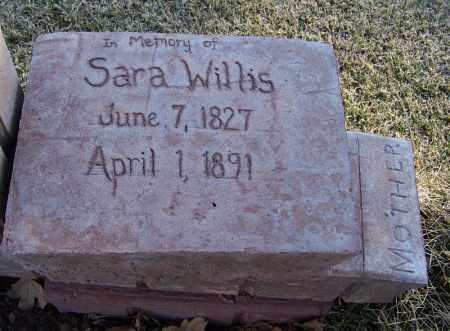 WILLIS, SARAH - Navajo County, Arizona | SARAH WILLIS - Arizona Gravestone Photos