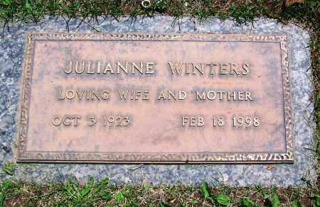 WINTERS, JULIANNE - Navajo County, Arizona | JULIANNE WINTERS - Arizona Gravestone Photos