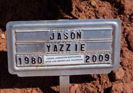 YAZZIE, JASON RAY - Navajo County, Arizona | JASON RAY YAZZIE - Arizona Gravestone Photos