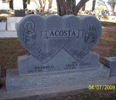 ACOSTA, SOGORRO G. - Pinal County, Arizona | SOGORRO G. ACOSTA - Arizona Gravestone Photos