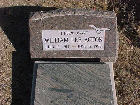 ACTON, WILLIAM  LEE - Pinal County, Arizona | WILLIAM  LEE ACTON - Arizona Gravestone Photos