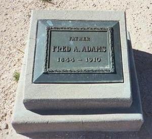 ADAMS, FRED A. - Pinal County, Arizona | FRED A. ADAMS - Arizona Gravestone Photos