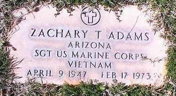 ADAMS, ZACHARY T. - Pinal County, Arizona | ZACHARY T. ADAMS - Arizona Gravestone Photos