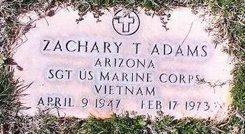 ADAMS, ZACHARY T. - Pinal County, Arizona | ZACHARY T. ADAMS - Arizona Gravestone Photos