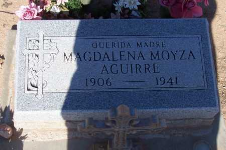 MOYZA AGUIRRE, MADALENA - Pinal County, Arizona | MADALENA MOYZA AGUIRRE - Arizona Gravestone Photos
