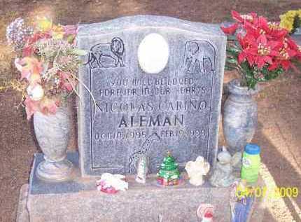 ALEMAN, NICOLAS CORINO - Pinal County, Arizona   NICOLAS CORINO ALEMAN - Arizona Gravestone Photos