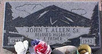 ALLEN, JOHN T., SR. - Pinal County, Arizona | JOHN T., SR. ALLEN - Arizona Gravestone Photos