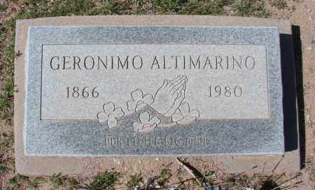 ALTIMARINO, GERONIMO - Pinal County, Arizona | GERONIMO ALTIMARINO - Arizona Gravestone Photos