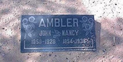 AMBLER, JOHN - Pinal County, Arizona | JOHN AMBLER - Arizona Gravestone Photos