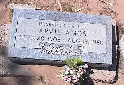 AMOS, ARVIL - Pinal County, Arizona | ARVIL AMOS - Arizona Gravestone Photos
