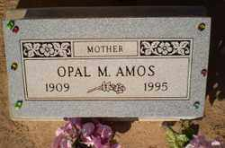 AMOS, OPEL M. - Pinal County, Arizona | OPEL M. AMOS - Arizona Gravestone Photos