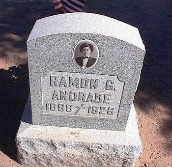 ANDRADE, RAMON G. - Pinal County, Arizona | RAMON G. ANDRADE - Arizona Gravestone Photos