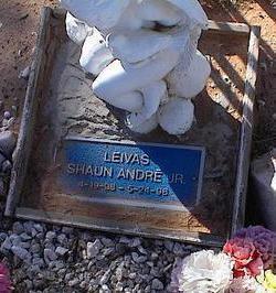 LEIVAS, SHAUN ANDRE, JR. - Pinal County, Arizona | SHAUN ANDRE, JR. LEIVAS - Arizona Gravestone Photos