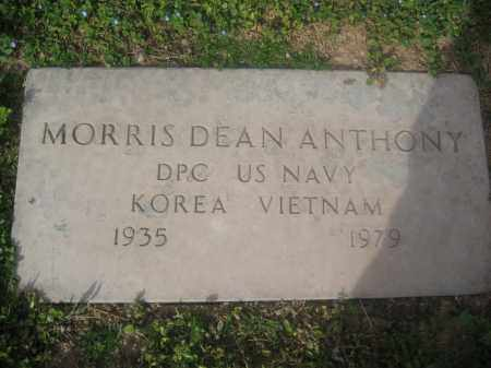 ANTHONY, MORRIS DEAN - Pinal County, Arizona | MORRIS DEAN ANTHONY - Arizona Gravestone Photos