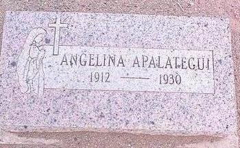 APALATEGUI, ANGELIA - Pinal County, Arizona | ANGELIA APALATEGUI - Arizona Gravestone Photos