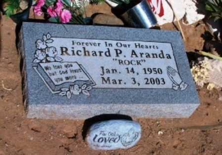 "ARANDA, RICHARD P. ""ROCK"" - Pinal County, Arizona 
