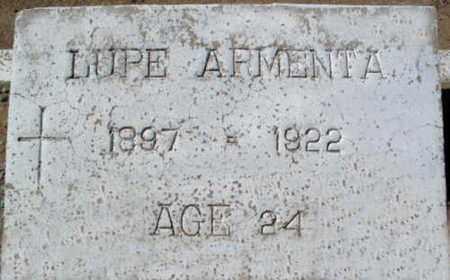 CUEN ARMENTA, GUADALUPE - Pinal County, Arizona | GUADALUPE CUEN ARMENTA - Arizona Gravestone Photos