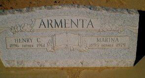 ARMENTA, MARINA - Pinal County, Arizona   MARINA ARMENTA - Arizona Gravestone Photos