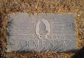 SHERMAN ARMENTA, THELMA - Pinal County, Arizona | THELMA SHERMAN ARMENTA - Arizona Gravestone Photos