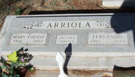 ARRIOLA, FERNANDO - Pinal County, Arizona | FERNANDO ARRIOLA - Arizona Gravestone Photos
