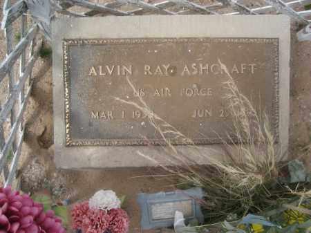 ASHCRAFT, ALVIN RAY - Pinal County, Arizona | ALVIN RAY ASHCRAFT - Arizona Gravestone Photos