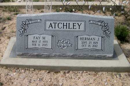 ATCHLEY, FAY MAREE - Pinal County, Arizona | FAY MAREE ATCHLEY - Arizona Gravestone Photos