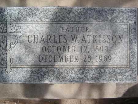 ATKISSON, CHARLES W. - Pinal County, Arizona   CHARLES W. ATKISSON - Arizona Gravestone Photos