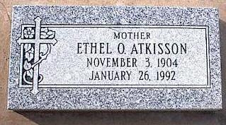 ATKISSON, ETHEL O. - Pinal County, Arizona | ETHEL O. ATKISSON - Arizona Gravestone Photos