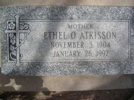 ATKISSON, ETHEL O. - Pinal County, Arizona   ETHEL O. ATKISSON - Arizona Gravestone Photos