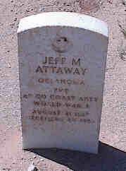 ATTAWAY, JEFF M. - Pinal County, Arizona | JEFF M. ATTAWAY - Arizona Gravestone Photos