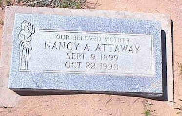 ATTAWAY, NANCY A. - Pinal County, Arizona | NANCY A. ATTAWAY - Arizona Gravestone Photos