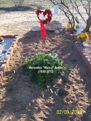"AVELAR, MERCEDES  ""MERCY"" - Pinal County, Arizona   MERCEDES  ""MERCY"" AVELAR - Arizona Gravestone Photos"