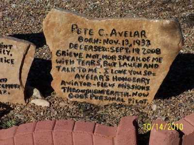 AVELAR, PETE  C. - Pinal County, Arizona | PETE  C. AVELAR - Arizona Gravestone Photos
