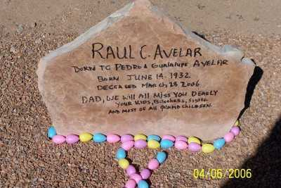 AVELAR, RAUL C. - Pinal County, Arizona | RAUL C. AVELAR - Arizona Gravestone Photos
