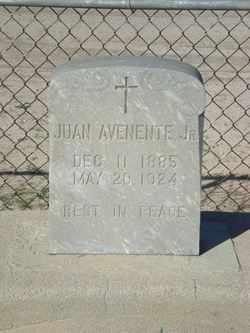 AVENENTE, JUAN, JR. - Pinal County, Arizona | JUAN, JR. AVENENTE - Arizona Gravestone Photos