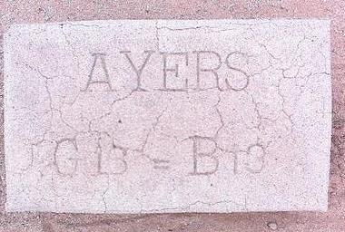AYERS, UNKNOWN - Pinal County, Arizona | UNKNOWN AYERS - Arizona Gravestone Photos