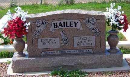 BAILEY, JAMES ELBERT - Pinal County, Arizona   JAMES ELBERT BAILEY - Arizona Gravestone Photos