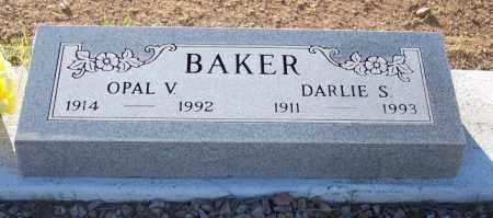 BAKER, OPAL V. - Pinal County, Arizona | OPAL V. BAKER - Arizona Gravestone Photos