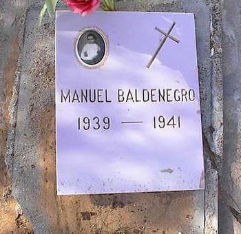 BALDENEGRO, MANUEL - Pinal County, Arizona | MANUEL BALDENEGRO - Arizona Gravestone Photos