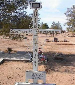BALDENEGRO, SANTIAGO Y. - Pinal County, Arizona | SANTIAGO Y. BALDENEGRO - Arizona Gravestone Photos