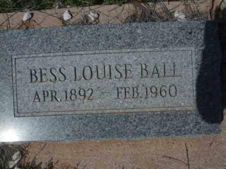 BALL, BESS LOUISE - Pinal County, Arizona | BESS LOUISE BALL - Arizona Gravestone Photos