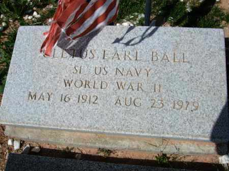 BALL, CLETUS EARL - Pinal County, Arizona | CLETUS EARL BALL - Arizona Gravestone Photos