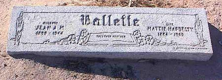 BALLETTE, MATTIE - Pinal County, Arizona | MATTIE BALLETTE - Arizona Gravestone Photos