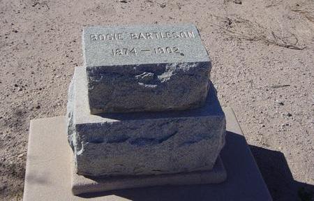 BARTLESON, BOGIE - Pinal County, Arizona   BOGIE BARTLESON - Arizona Gravestone Photos