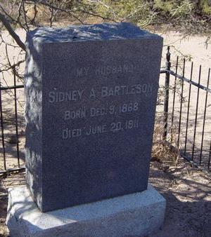 BARTLESON, SIDNEY A. - Pinal County, Arizona   SIDNEY A. BARTLESON - Arizona Gravestone Photos