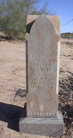 BATES, THEO W. - Pinal County, Arizona   THEO W. BATES - Arizona Gravestone Photos